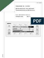 Discovery BA1metal Detector 519-2354-Nl 0 200008 BNLDISCO