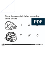 Circle Letter From Picture 4