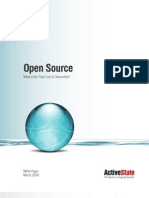 Open Source - Total Cost of Ownership