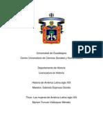 Mujeres en America Latina Siglo Xix