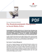 Das Kundenkontaktpunkt-Management in Social-Media-Zeiten