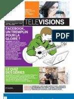 Le Monde supplément Télévisions 7/8/11