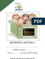 BIOGRAFÍA LECTORA cuaderno