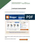 t1crear Blog Con Blogger