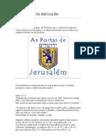 12 PORTAS DE JERUSALE