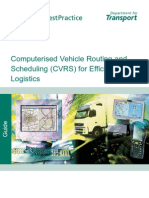 FBP1009 CVRS for Efficient Road Freight [1]