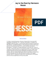 The Journey to the East by Hermann Hesse - The Tao of Hesse