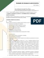 009_Contenidos_DISEÑADOR DE SISTEMAS DE CONTROL ELECTRICO