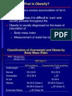 Obesity and Sibutramine