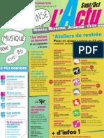 ACTU Septembre 2011 - Spécial FORUM JEUNES 11e édition