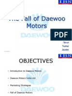 Daewoo Motors Presentation Final