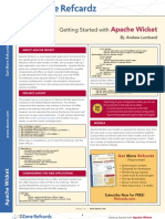 Apache Wicket Reference Card