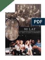 Księga pamiątkowa 90 -lecie II LO im. E. Plater w Sosnowcu 1998 rok. Internet
