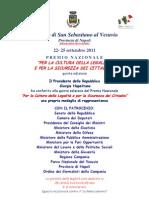programma legalità 5 edizione 2011