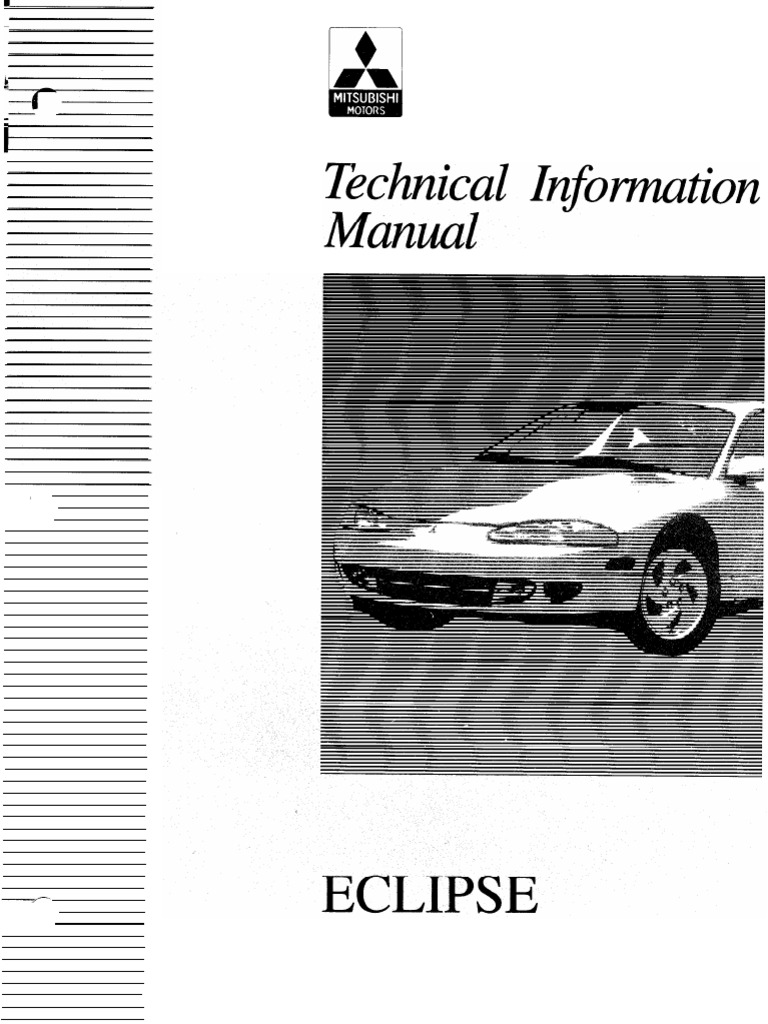 2g eclipse tech info manual throttle fuel injection rh scribd com 97 Mitsubishi Eclipse Body Kits 97 Mitsubishi Eclipse Review