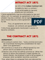The Contract Act 1871(R)