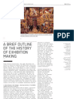A Brief Outline of the History of Exhibition Making