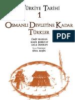Türkiye Tarihi I - Osmanlı Devletine Kadar Türkler