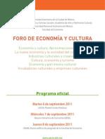 Foro_Economía_y_Cultura_Programa_2011