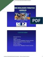 Modalidades Formativas Laborales