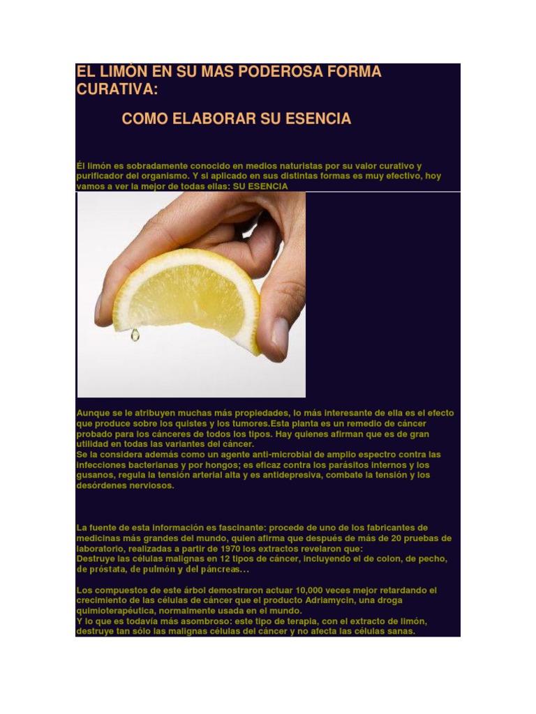 cáncer de limón y próstata
