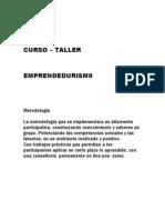 Curso Taller Emprendedurismo