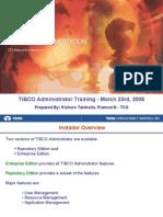 EAI Tibco Administration v1