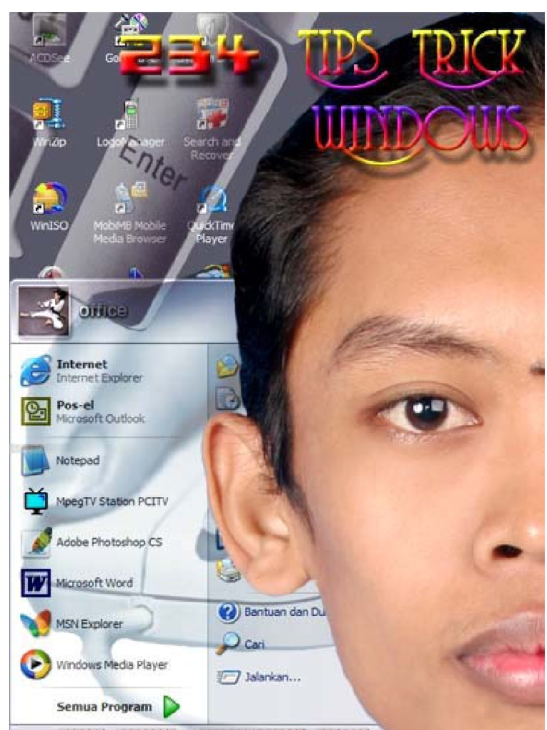 234 Tips Dan Trik Windows Windows Registry Booting