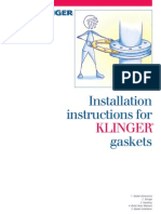 Installation Instructions for KLINGER Gaskets- Einbau_e