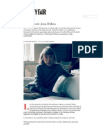Joan Didion | Culture | Vanity Fair
