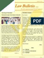 Abhyaas Law Bulletin- September 2011