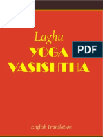 Laghu Yoga Vasishta - English Translation