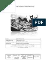 CBLM Fabricating Formworks