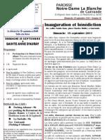 Bulletin SAPB&NDLB 110918