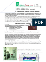 Auto Agronom Brochure in Spanish New