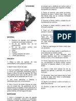 Capa de Agenda de Patchwork