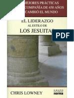 El Liderazgo de Los Jesuitas
