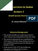 Health Services in Sudan