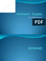 Demand - Supply