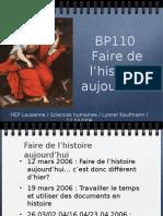bp110 séance 1 2007