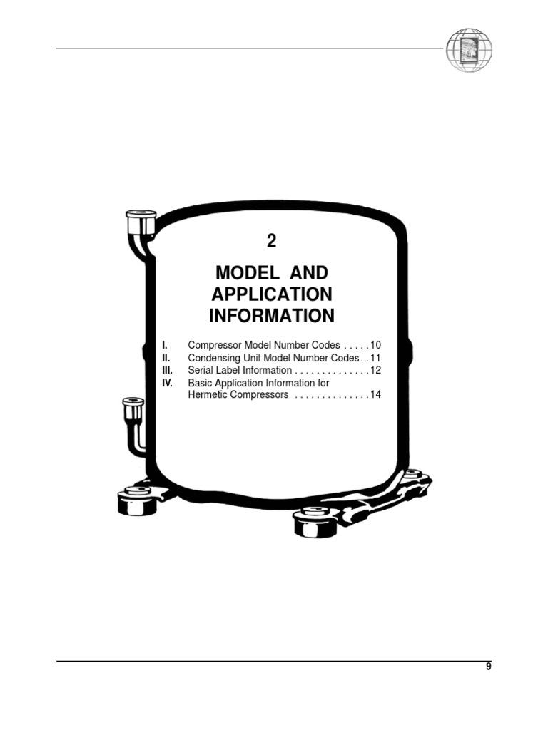 tecumseh model number codes air conditioning gas compressor York Compressor Wiring Diagram