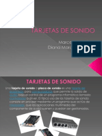 TARJETAS DE SONIDO