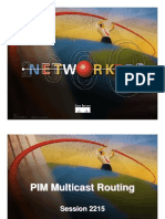 Cisco Net Workers 2000 - Pim Multicast Routing