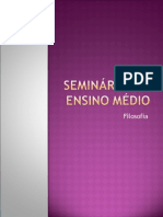 Seminários 2º Ensino Médio