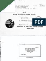 ASTP Flight Readiness Review Preboard Report, JSC