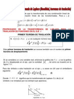 laplace teoremas traslacion