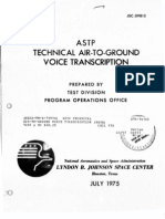 ASTP Technical Air-To-Ground Voice Transcription