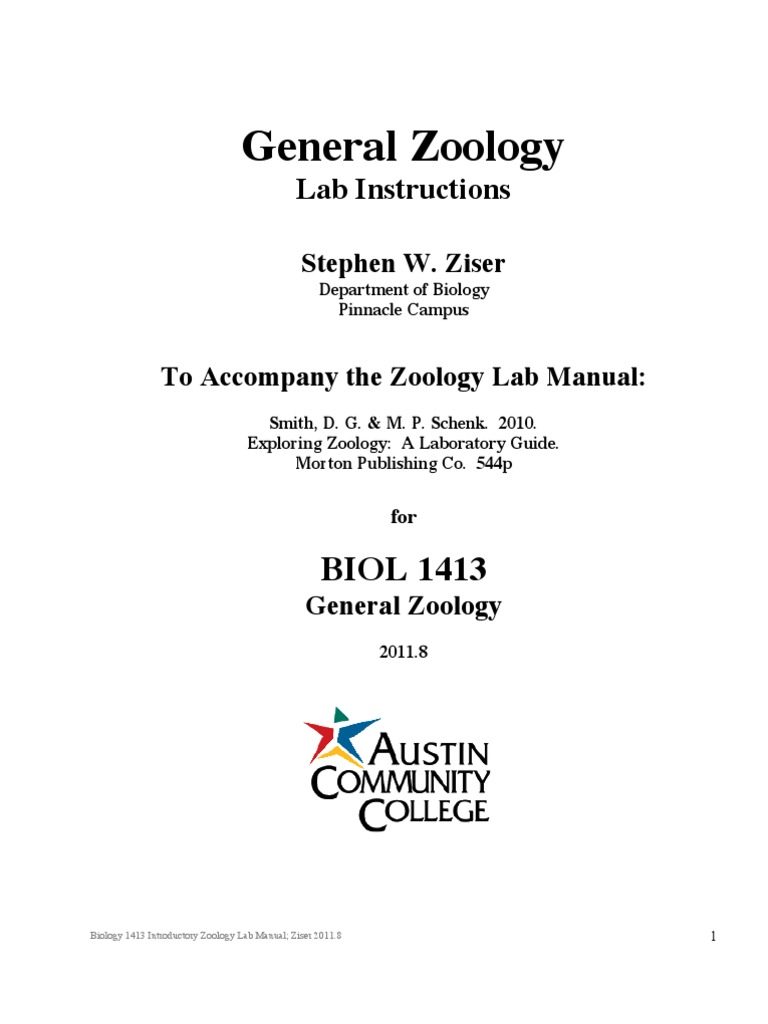 Zoology Lab Manual Hard Cover | Epithelium | Nervous System