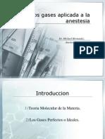Fisica de Los Gases Aplicada a La Anestesia
