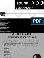 2.Behaviour of Sound